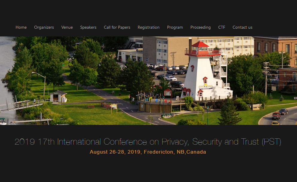 17th Annual International Conference on Privacy, Security and Trust.